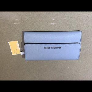Pale Blue Michael Kors Wallet